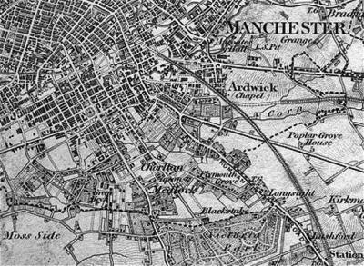 Chorlton-on-Medlock 1843