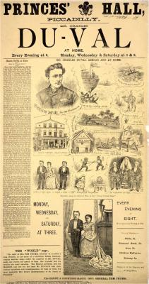 Poster dated 1 October 1886
