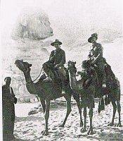 In Egypt (centre) 10 April 1915